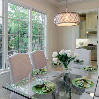Lampa wisząca Bella nad stół w jadalni