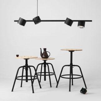 Lampa wisząca Bot nad długi stół