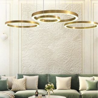 Lampa wisząca Circle do pięknego salonu