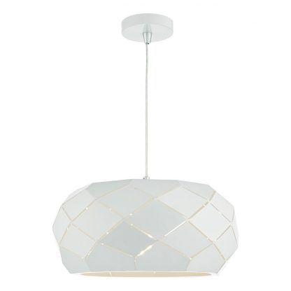 Lampa wisząca Coby do salonu lub sypialni
