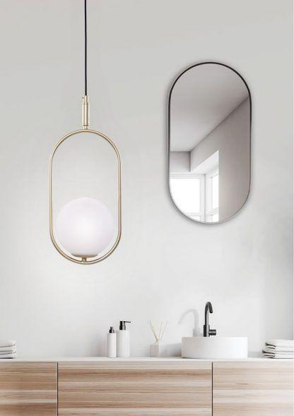 Lampa wisząca Cordel do pięknej łazienki