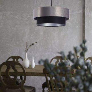 Lampa wisząca Duo do stylowego salonu