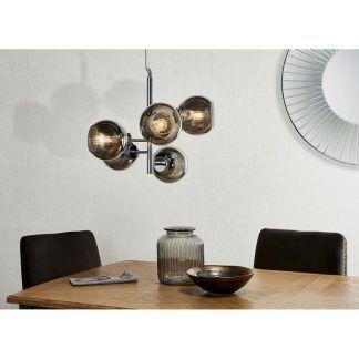 Lampa wisząca Elan nad stół w jadalni