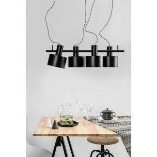 Lampa wisząca Enkel nad stół w jadalni