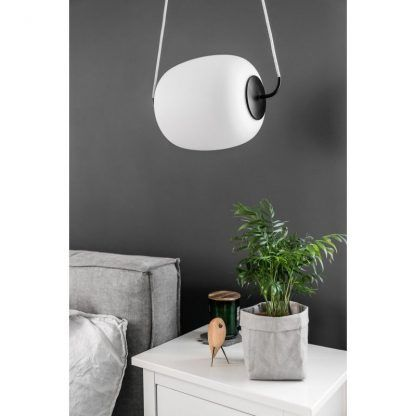 skos - Lampa wisząca Epli nad szafkę nocną w sypialni