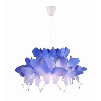 Lampa wisząca Farfalla do delikatnej sypialni
