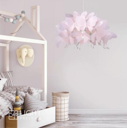 Lampa wisząca Farfalla do dziewczęcego pokoju