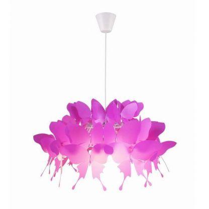 Lampa wisząca Farfalla do pokoju dziewczynki