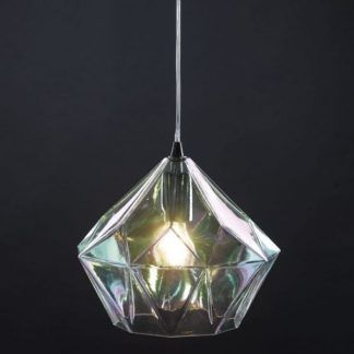 Lampa wisząca Gaia nad kuchenną wyspę