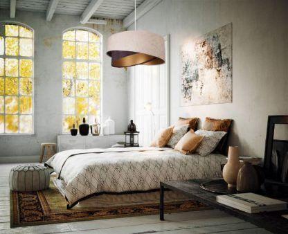 Lampa wisząca Galaxy do eleganckiej sypialni