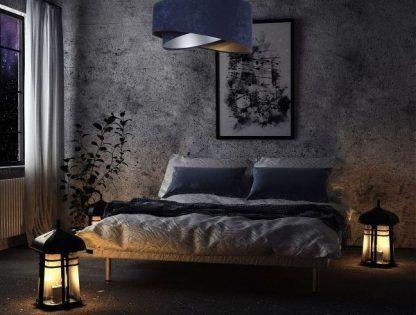 Lampa wisząca Galaxy nad łóżko w sypialni
