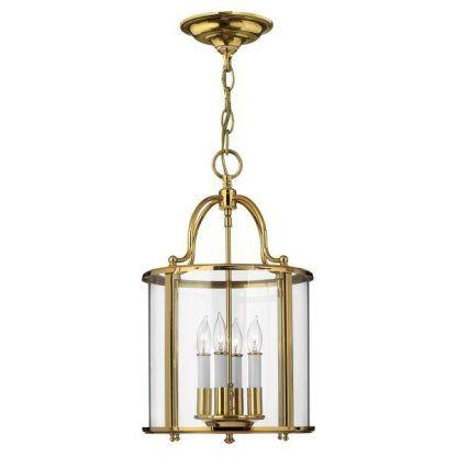 Lampa wisząca Gentry nad stolik do salonu