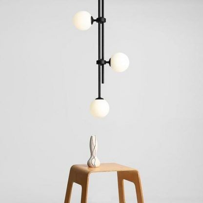 Lampa wisząca Harmony 3 do wysokiego salonu