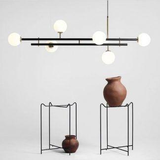 Lampa wisząca Harmony 6 do jadalni lub salonu