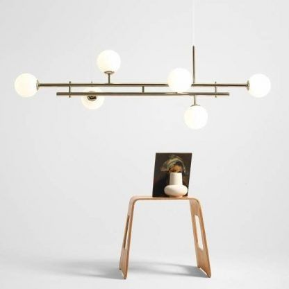 Lampa wisząca Harmony 6 nad stół w jadalni