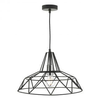 Lampa wisząca Hitika nad stół w jadalni