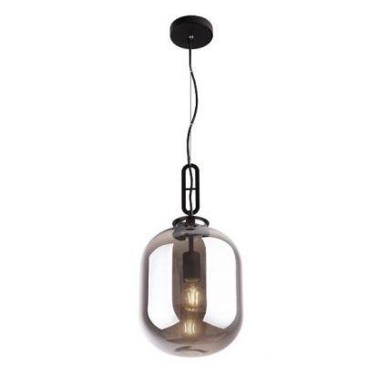 Lampa wisząca Honey nad blat roboczy - szklana