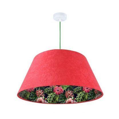 Lampa wisząca Jungle nad komodę w salonie