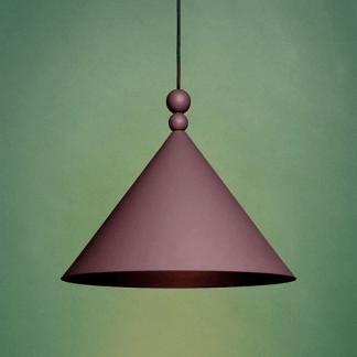 Lampa wisząca Konko do stylowej jadalni