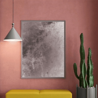 Lampa wisząca Konko nad sofę w salonie