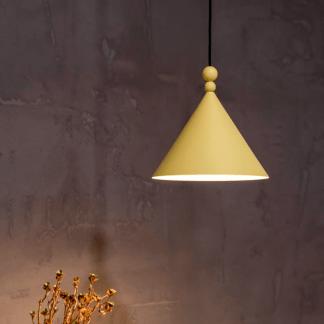 Lampa wisząca Konko nad wyspę kuchenną