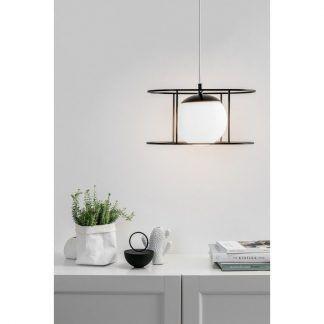 Lampa wisząca Kuglo nad stół w jadalni