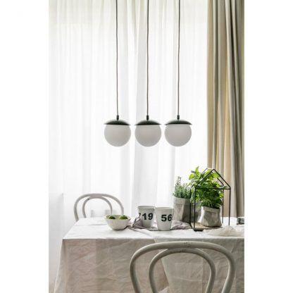 Lampa wisząca Kuul A nad stół do jadalni