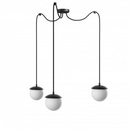 Lampa wisząca Kuul F do dużego salonu