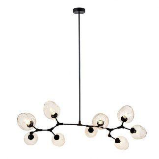 Lampa wisząca Modern Orchid nad stół w jadalni