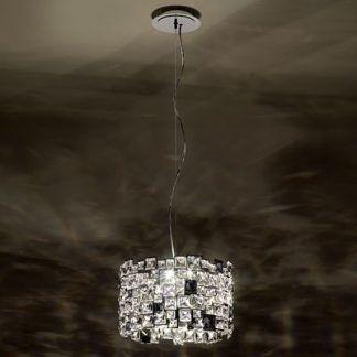 Lampa wisząca Mosaix Swarovski do pięknego salonu