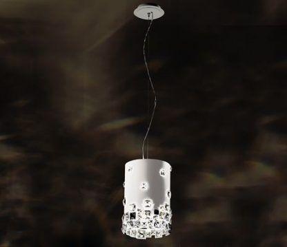 Lampa wisząca Mosaix - Swarovski do salonu i jadalni