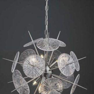 Lampa wisząca Nabila do nowoczesnego salonu