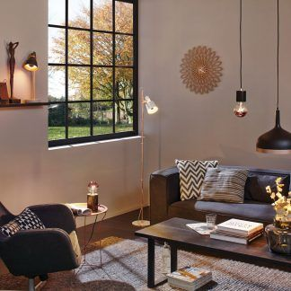 Lampa wisząca Neordic Embla nad stół w pokoju