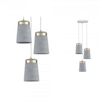 Lampa wisząca Neordic Norell do salonu lub sypialni