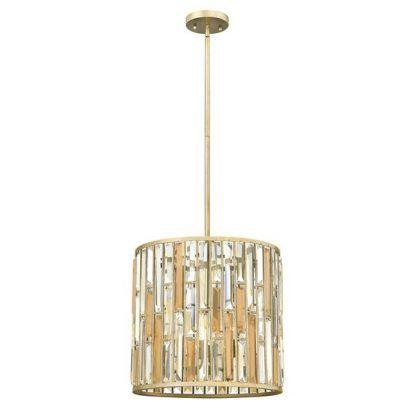Lampa wisząca Opal 2 do jasnego salonu