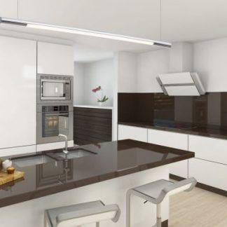 Lampa wisząca Organic nad wyspę kuchenną