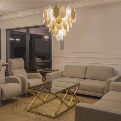 Lampa wisząca Palermo do nowoczesnej sypialni
