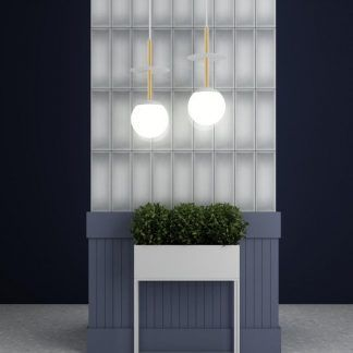 Lampa wisząca Plaat A do pięknego salonu