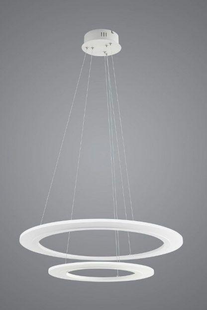Lampa wisząca Saturn do nowoczesnej jadalni