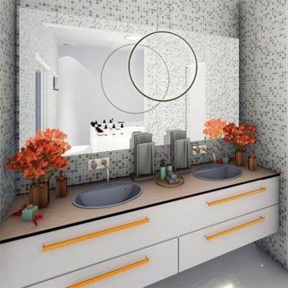Lampa wisząca Shape No.1 do pięknej łazienki