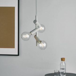 Lampa wisząca Sion - 3 żarówki ozdobne