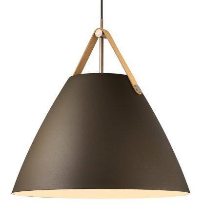 Lampa wisząca Strap nad jadalniany stół
