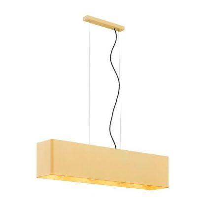 Lampa wisząca Teneryfa podłużna nad stół