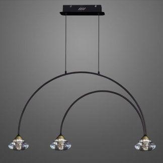 Lampa wisząca Tiffany No.3 CL1 nad łóżko w sypialni