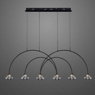 Lampa wisząca Tiffany No.3 CL4 do pięknego salonu