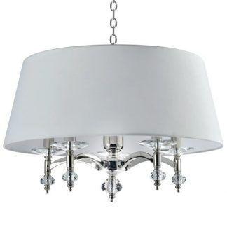 Lampa wisząca Verona nad łóżko w sypialni