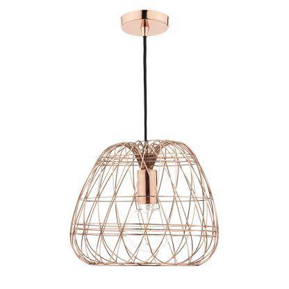 Lampa wisząca Woven do sypialni