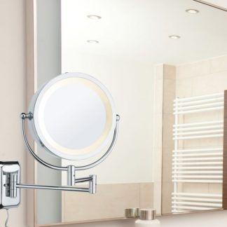 Lustro kosmetyczne Bela nad toaletkę w sypialni