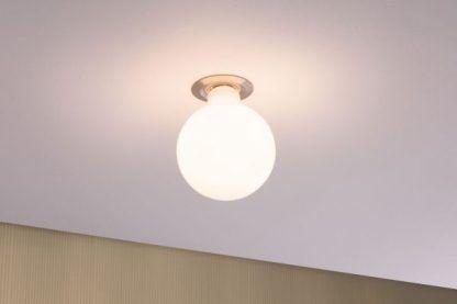 Mleczna żarówka Globe 125 - E27, 2700K, 6W