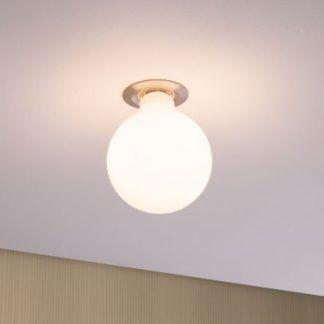 Mleczna żarówka Globe G95 - E27, 2700K, 7,5W